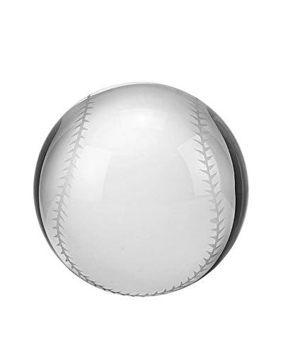 Badash Crystal Glass Baseball Paperweight