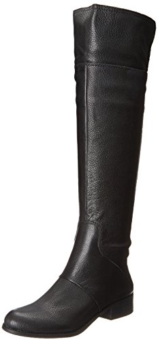 Nine West Women'S Noriko Riding Boot,Black,8.5 M Us