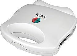 Nova NSM-2411 750-Watt Sandwich Maker (White)