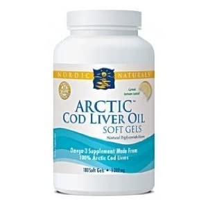 Arctic Cod Liver Oil (lemon) 180 softgels