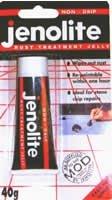 JENOLITE Rust Remover Treatment Non-Drip Gel 40g