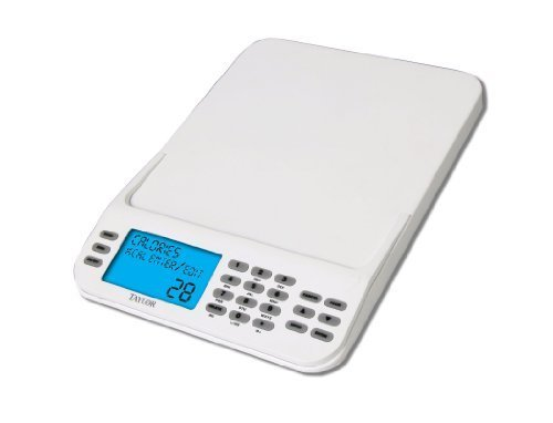 Taylor 3847 Cal-Max Digital Food Scale with Calorie Calculator by Taylor Thermometers