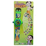 General AUX Chhota Bheem Projector Watch For Kids