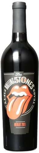 2011 Rolling Stones 50th Anniversary Forty Licks Merlot Mendocino County