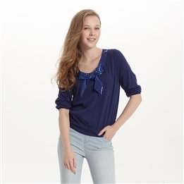 the-metersbonwe-women-sequined-bow-three-quarter-sleeve-t-shirt-211717-original-159