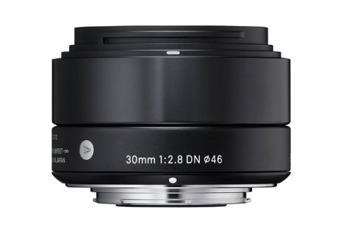 Sigma 30mm f/2.8 DN Lens, Black (Sony NEX E Mount)