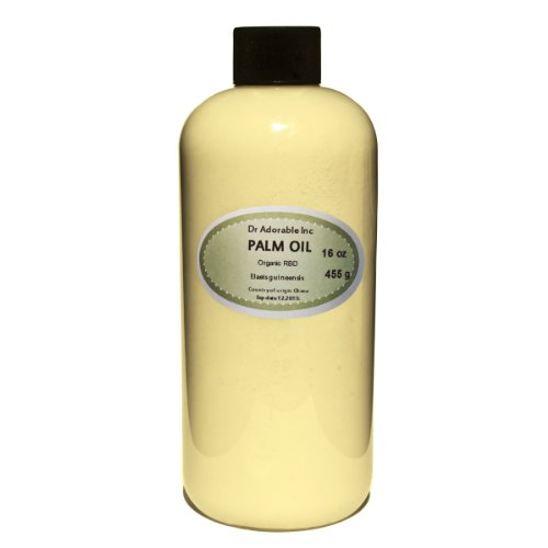 Palm Oil Pure Cold Pressed Organic 32 Oz / 1 Quart front-992405