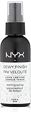 NYX Cosmetics Make Up Setting Spray, Dewy Finish/Long Lasting, 2.03 Ounce