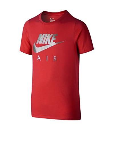 Nike T-Shirt Manica Corta Air Td Yth [Blu]