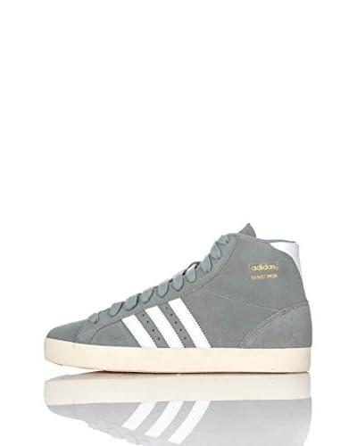 adidas Scarpa Basket Pro [Grigio/Bianco]