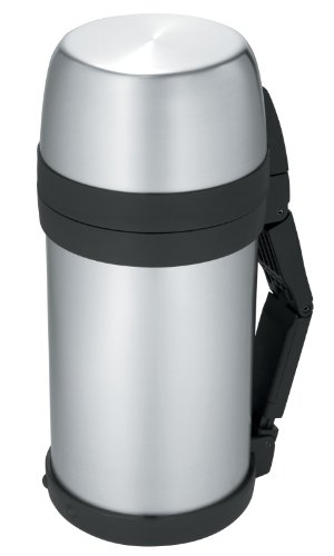 Thermos 48-Ounce Wide Mouth Stainless-Steel Bottle front-588977