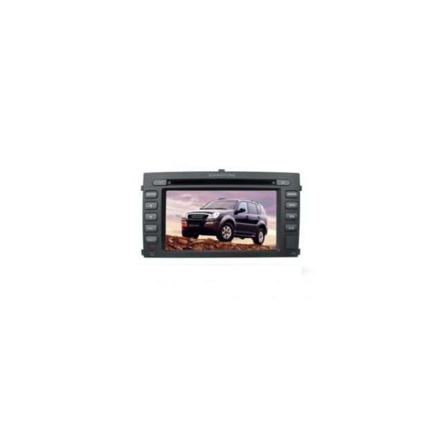 Chilin Car DVD for SSangYong High Inch Touchscreen Double DIN Car DVD Player & In Dash GPS Navigation System