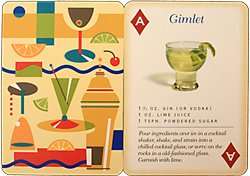 Cocktails Playing Cards Wine Game