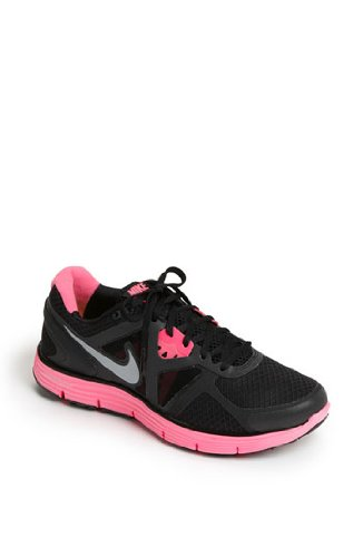d94151bba38f5 Nike Lunarglide 3 Reflective 3M Black Pink Running Women Shoes 512931 006 9
