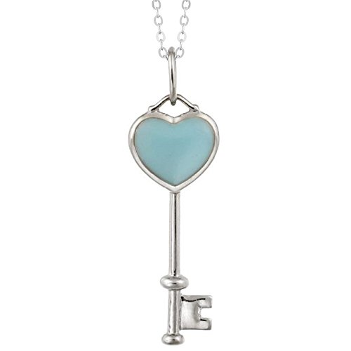 sterling-silver-blue-turquoise-heart-key-pendant-with-18-chain