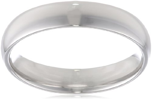 Men's Platinum Comfort-Fit Plain Wedding Band