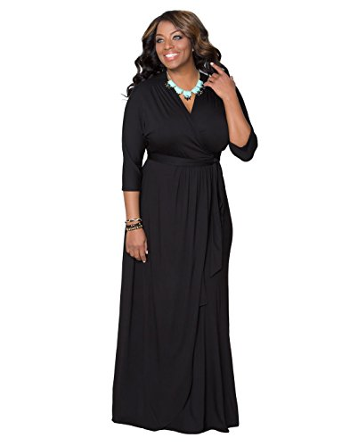 Wrapped In Romance Dress (1X, Black Noir)