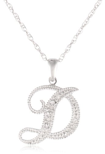 Your jewelry box your jewelry box for Letter d diamond pendant
