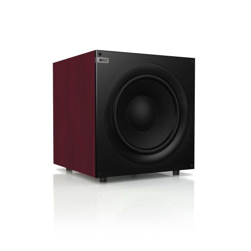 Kef Q400R Front Firing Powerful Subwoofer - Rosewood (Single)