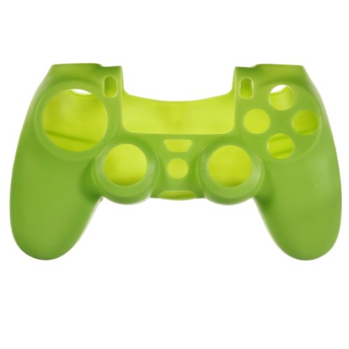 Silicone Rubber Case Skin Cover Grip For Ps4 Playstation 4 Controller Mod Green