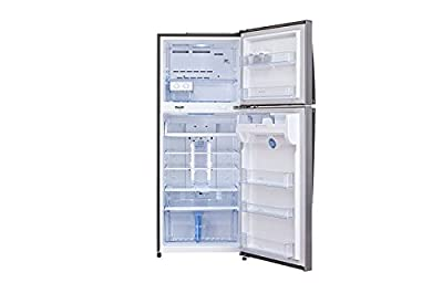 LG GL-M472GLJM Frost-free Double-door Refrigerator (420 Ltrs, 4 Star Rating, Platinum Silver)
