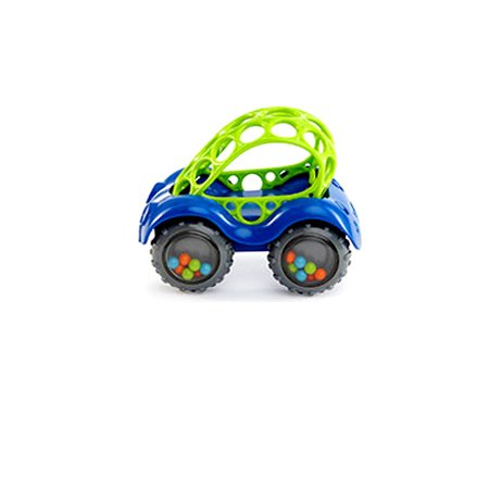 Oball Rattle and Roll Toy Car (Blue) by Rhino Toys - 1