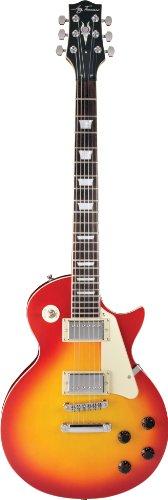 Jay Turser 200 Series Jt-220d-cs Electric Guitar, Cherry Sunburst 2016new electric guitar g lp custom guitar black white sunburst more colorguitar in china