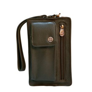 1642 Traveller belt/wrist bag - 18 x 11 x 5cms (7 x 4.25 x 2ins)