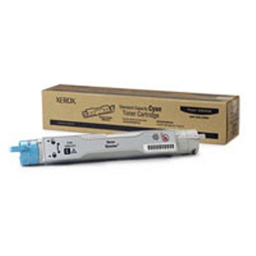Xerox Phaser 106R01073 6300 6350 6300N 6350N 6300DN 6350DN laser toner cartridge - 1 x cyan blue - 4000 pages