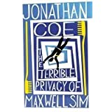 The Terrible Privacy Of Maxwell Simpar Jonathan Coe