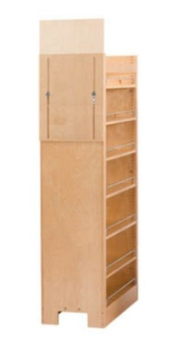 Rev A Shelf Rs448.Tp58.11.1 11 In. W X 58-.25 In. H Pull-Out Pantry Organizers With Shelves