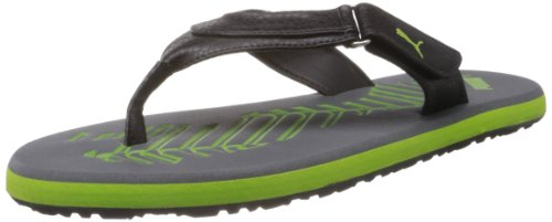 Puma Men's Breeze 4 Ind Grey Flip Flops and House Slippers - 8 UK/India (42 EU)  available at amazon for Rs.1011