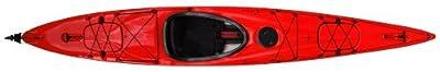 compass140TX-RW Boreal Design Compass 140 TX Kayak, 13.75-Feet, Red/White by Kayak Distribution