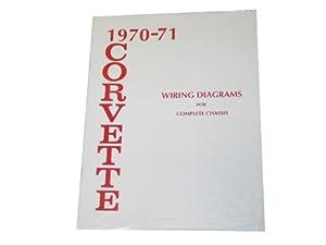 1970-1971 Corvette Wiring Diagram Book