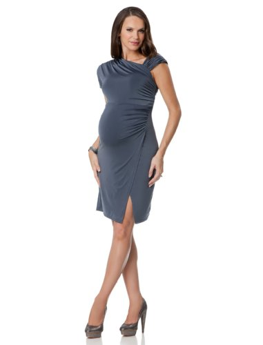 A Pea in the Pod Collection: Sleeveless Drape Maternity Dress