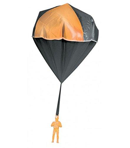 Aeromax 2000 Glow Parachute Orange (Glow In The Dark Toy Parachute)