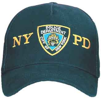 Genuine NYPD Shield Embroidered Cap / Baseball Style Cap
