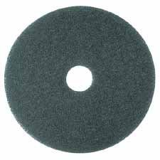"3M Commercial Office Supply Div. Products - Cleaner Pad, Removes Dirt/Spills/Scuffs, 17"", 5/CT, Blue - Sold as 1 CT - Use scrubbing pads before replacing worn finish to provide a fresh new surface to maintain. Use on rotary or automatic equipment with low speeds from 175 to 600 RPM. Scrubbing pads are designed for heavy-duty scrubbing before recoating. Also use for heavy-duty spray cleaning or foam scrubbing. Pads remove dirt, spills and scuffs, leaving a clean surface ready for recoating."