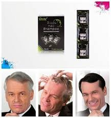 instant hair dye black hair shampoo 3 black color