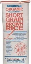 Rice Brown Short Grain Organic 25 BulkB0000CEQ9T