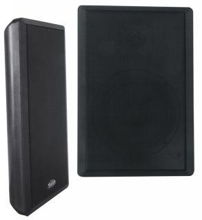 Dynavox WS-502 Flatpanel Lautsprecher (40 Watt) schwarz (Paar)