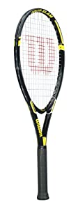 Wilson Tour Slam Adult Strung Tennis Racket, 4 1/2