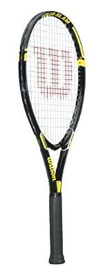 Wilson Tour Slam Adult Strung Tennis Racket, 4 1/2