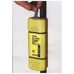 PHC Blade Bank, Hi-Vis Yellow, Recycled Plastic, Disposable, BB00209