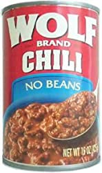 Wolf Chili without Beans 15 oz. - 12 Unit Pack