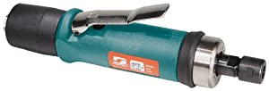 Dynabrade 52278 Straight-Line Die Grinder, 20000 RPM, Extended Rear Exhaust, 1/4-Inch Collet
