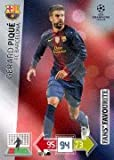 Champions League Adrenalyn XL 2012/2013 Gerard Pique 12/13 Fans Favourite