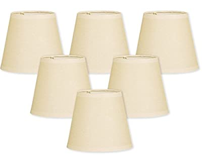 Royal Designs Parchment Empire Eggshell Chandelier Lamp Shade
