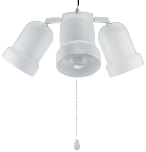 Ceiling Fan Light Bulbs Candelabra Base : Af lighting bala hugger ceiling fan with light one