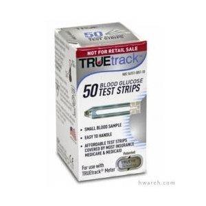 TrueTrack Blood Glucose Test Strips